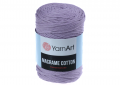 Sznurek do makramy, 3mm Yarn Art, Macrame Cotton, kolor 765 liliowy