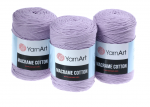 Sznurek 3mm Yarn Art, Macrame Cotton, 765 liliowy, 225 m