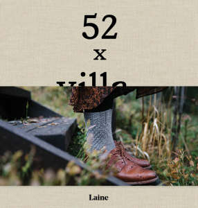 "Książka, ""52 Weeks of Socks"", Laine Publishing"