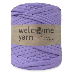 T-shirt yarn, WelcomeYarn, lawendowy, 120m