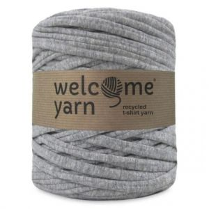 T-shirt yarn, WelcomeYarn, szary, 120m