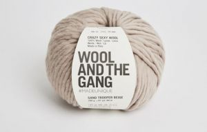 Wool And The Gang, Crazy Sexy Wool, Sand Trooper Beige