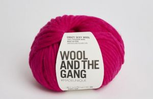 Wool And The Gang, Crazy Sexy Wool, Hot Punk Pink