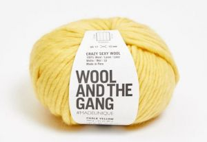 Wool And The Gang, Crazy Sexy Wool, Chalk Yellow
