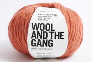 Wool And The Gang, Crazy Sexy Wool, Earthy Orange