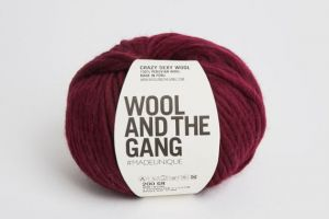 Wool And The Gang, Crazy Sexy Wool, Margaux Red