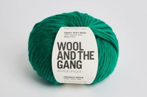 Wool And The Gang, Crazy Sexy Wool, Emerald Green