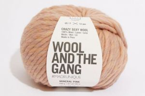 Wool And The Gang, Crazy Sexy Wool, Mineral Pink