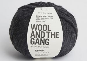 Wool And The Gang, Crazy Sexy Wool, Charcoal