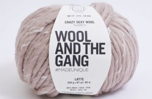 Wool And The Gang, Crazy Sexy Wool, Latte