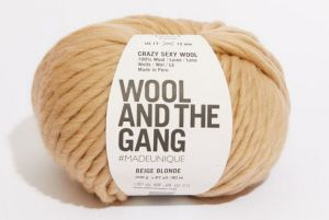 Wool And The Gang, Crazy Sexy Wool, Beige Blonde