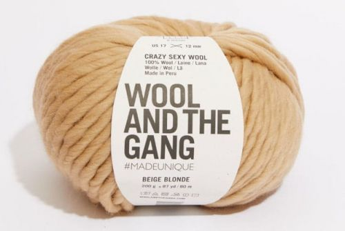 wloczka-Wool and the Gand - Crazy Sexy Wool-kolor-beige-blonde