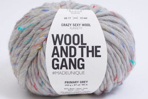 wloczka-Wool and the Gand - Crazy Sexy Wool-kolor-primary-grey